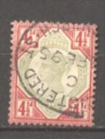 Grande Bretagne  N° 98 Oblitéré  Cote  30,00 €  Au Quart De Cote