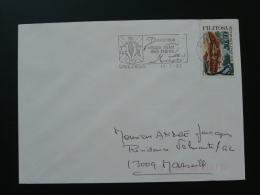 07 Ardèche Davezieux Frères Montgolfier - Flamme  Sur Lettre Postmark On Cover - Airships