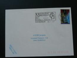 07 Ardèche Davezieux Frères Montgolfier - Flamme  Sur Lettre Postmark On Cover - Fesselballons
