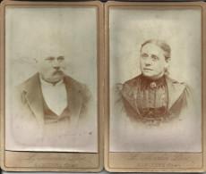 SANCOINS (Cher) - 2 Photos Format CdV - Photographe Martin - Old (before 1900)