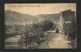 LA SPEZIA - CHIAPPA - 2 TRANVAI -tramway In Arrivo - La Spezia