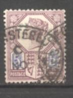 Grande Bretagne  N° 99 Oblitéré  Cote  10,00 €  Au Quart De Cote