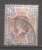 Grande Bretagne  N° 101 Oblitéré  Cote  50,00 €  Au Quart De Cote