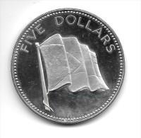 5 Dollars Argent Silver 42 Gr. Bahamas 1974 - Bahamas