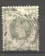 Grande Bretagne  N° 103 Oblitéré  Cote  60,00 €  Au Quart De Cote
