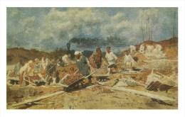 """RUSSIA - RUSSIE - RUSSLAND Sawicki """"Repairs On The Railway"""" - Peintures & Tableaux"""