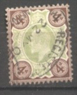 Grande Bretagne  N° 112 Oblitéré  Cote  15,00 €  Au Quart De Cote