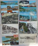 Lot 11x Le Treport Multi Vues Escaliers Terrasses Plage Falaises Jetée Fregate Fetes De La Mer Dont 5 Cpa Voir Photos - Le Treport