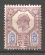Grande Bretagne  N° 113 Oblitéré  Cote  14,00 €  Au Quart De Cote