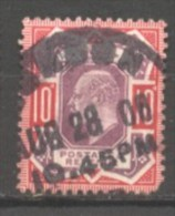 Grande Bretagne  N° 116 Oblitéré  Cote  45,00 €  Au Quart De Cote