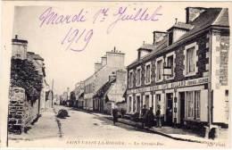 SAINT VAAST LA HOUGUE - La Grande Rue - Hotel De Normandie Bisson - Billard    (67362) - Saint Vaast La Hougue