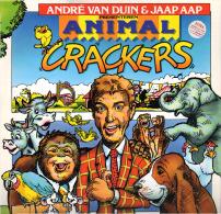 * LP *  ANDRÉ VAN DUIN - ANIMAL CRACKERS (Holland 1989 EX-!!!) - Humor, Cabaret