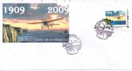 Centenaire Traversee De La Manche  Bleriot 2009  Calais - Personalisiert (MonTimbraMoi)