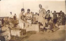 WW1 - Camp De Prisonniers De Guerre De Mannheim, Fours Rudimentaires, Carte Photo - Guerra 1914-18