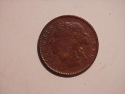 Straits Settlement 1/4 Cent  1898 - Indien