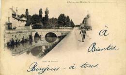 CHÂLONS SUR MARNE - MARNE (51) - PEU COURANTE CPA PRECURSEUR DE 1902. - Châlons-sur-Marne