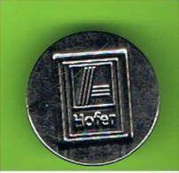 # 049  -  Spielmarke - Jeton - HOFER - Profesionales/De Sociedad