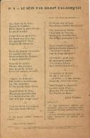 LA  BAGUE  DU   ((POILU  )) - Contes, Fables & Légendes