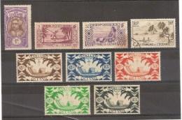 ETABLISSEMENTS FFRANCAIS DE L´OCEANIE - LOT DE 9 TIMBRES - Oceanië (1892-1958)
