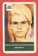 K1045 / 1969 ROW RATHENOW - VEB Rathenower Optische Werke RATHENOW - Calendar Calendrier Kalender - DDR GERMANY - Calendarios