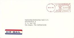 Airmail J.R. Smits New York Tot Netherlands - Transportmiddelen