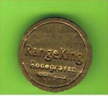 # 058  -  Spielmarke - Jeton - RANGE KING - HOLLAND - Profesionales/De Sociedad