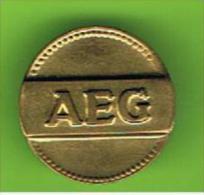 # 061  -  Spielmarke - Jeton - AEG - Profesionales/De Sociedad