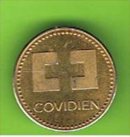 # 065  -  Spielmarke - Jeton - COUIDIEN - Profesionales/De Sociedad