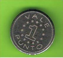 # 068  -  Spielmarke - Jeton - VALE 1 PUNTO - Profesionales/De Sociedad