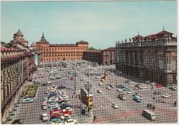 Torino: 2x FIAT 600 MULTIPLA, DOUBLE-DECKER BUS, CITROËN DS & 2CV, LANCIA FULVIA, FIAT 500, VW T1-BUS -Palazzo - Italia - Turismo