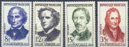 FRANCE - Yv. Nr 1146/1149 - Savants - MNH** - Cote 5,45 € - Frankreich