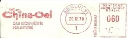 Nice Cut Meter CHINA OEL, Berlin 20/12/1979 - Aardolie
