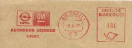 Nice Cut Meter Autohaus Giessen, OPEL GM, Giessen 9/4/1981 - Auto's