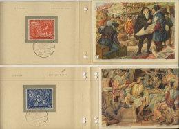 Leipziger Messe im Wandel der Zeit 1949 Folge V / Michel No. 230 - 231