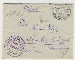 Deutsches Reich Feldpost Brief mit Inhalt 1915