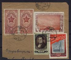 Lot SU gestempelt used auf Ausschnitt 1954