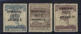 Griechenland Michel No. 246 - 248 * ungebraucht