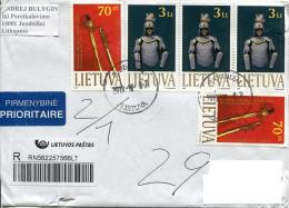 Lithuania To Moscow Sabre Of General S.Zhukauskas 1927, Protective Uniform Of Lithuanian Warrior - Lithuania