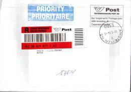 Austria To Moscow Registered - 2011-... Gebraucht