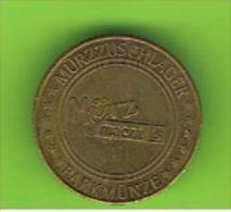 # 085 -  Spielmarke - Jeton - PARKMUNZE - MURZZUSCHLANGER - Profesionales/De Sociedad