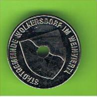 # 088 -  Spielmarke - Jeton - STADTGEMEINDE WOLKERSDORF IM WEINVIERTL - Profesionales/De Sociedad