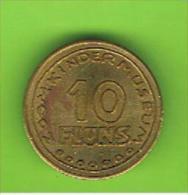 # 094 -  Spielmarke - Jeton - 10 FLUNS - Profesionales/De Sociedad