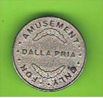 # 096 -  Spielmarke - Jeton - DALLA PRIA - Profesionales/De Sociedad