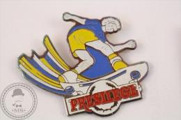 Skating Presilege - Pin Badge  - #PLS - Pin