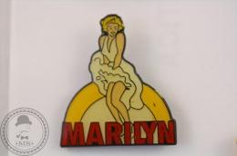 Marilyn Monroe White Dress - Pin Badge 2 - #PLS - Personajes Célebres