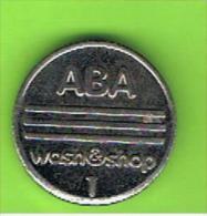 # 099 -  Spielmarke - Jeton - ABA - WASH SHOP - Profesionales/De Sociedad