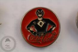 Black Power Ranger Coca Cola - Pin Badge - #PLS - Coca-Cola