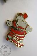 Rare Hippo Skating - Pin Badge - #PLS - Pin