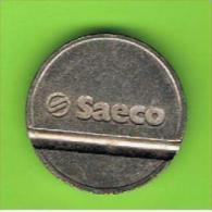 # 105 -  Spielmarke - Jeton - SAECO - Profesionales/De Sociedad