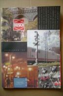 PCE/2 Catalogo BUSCH Model Railway Accessories 1995/treni/ferrovie/prezziario Italiano - Gran Bretagna